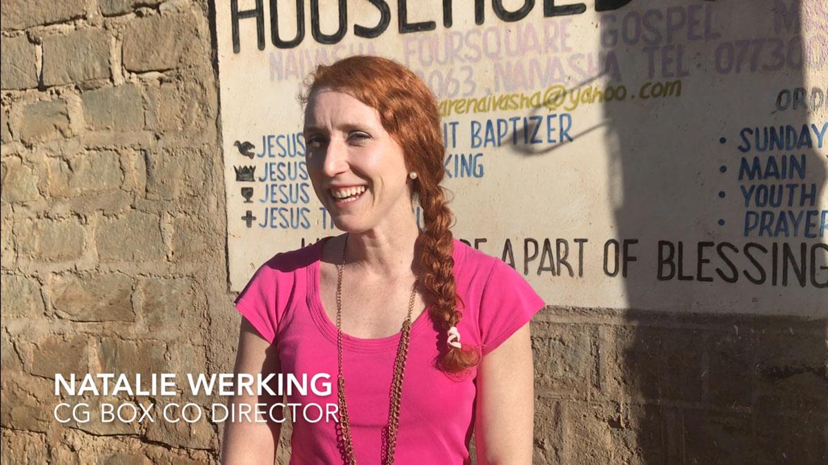 Natalie Werking Vblog Kenya